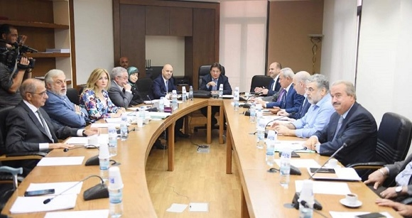 Hasbani Discusses with the Parliament's Finance and Budget Committee the Medical Card Draft Law
